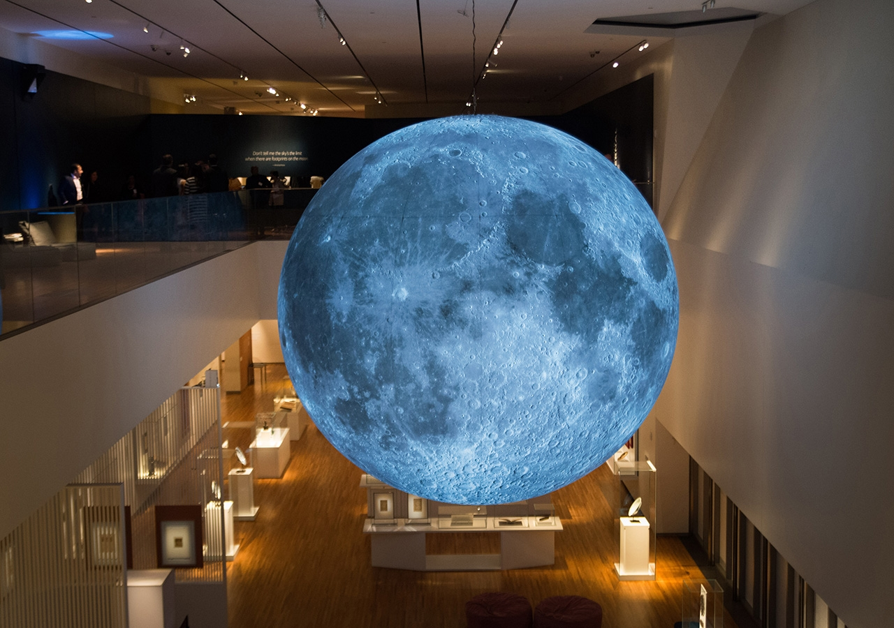 9acaab1bfb The Aga Khan Museum's new exhibit - The Moon: A Voyage Through Time ...