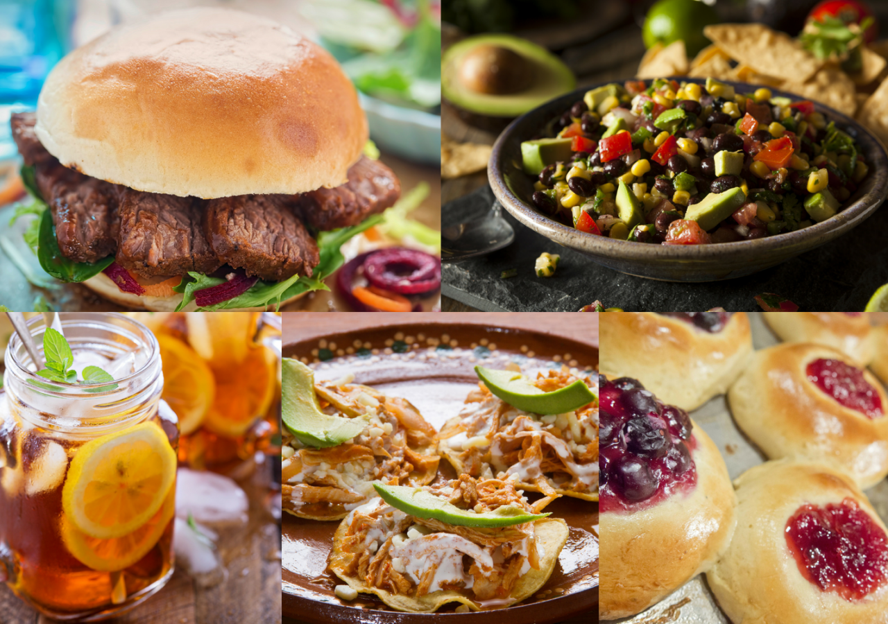 Everything is bigger in Texas, including the portions of these delicious, all-American delicacies. Enjoy with moderation!