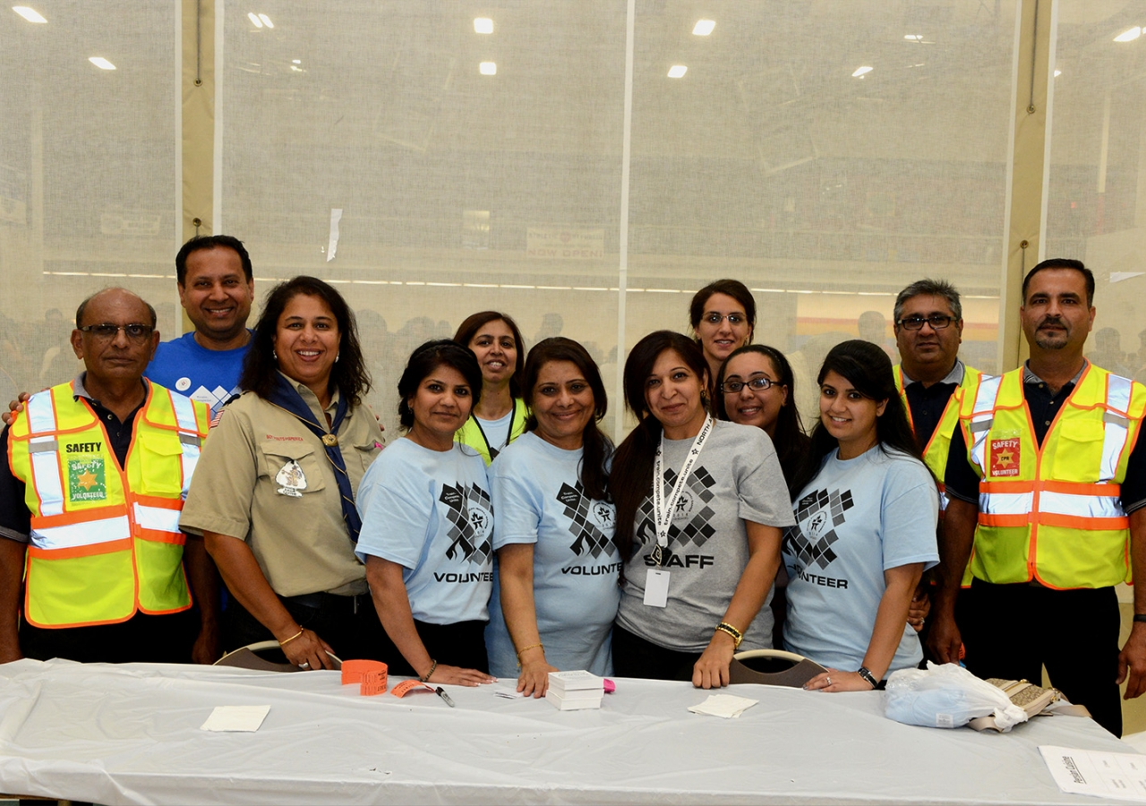 More than 1,000 volunteers devoted every hour of their long weekend to make the North American Ismaili Games a reality. Akber Dewji