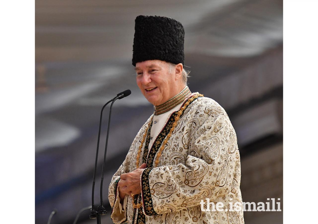 Mawlana Hazar Imam addresses the Tanzanian Jamat.