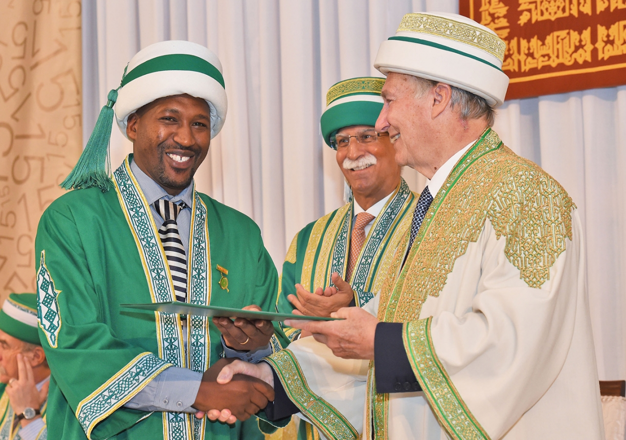 In Nairobi, some 87 graduands received degrees and diplomas from the AKU School of Nursing and Midwifery and the AKU Medical College. AKDN / Zahur Ramji