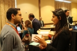 Startup Alley at IPN LaunchPad 2016 is where investors and mentors had a chance to network one-on-one with startup founders seeking funding and advice.