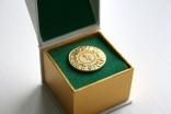 Golden Jubilee lapel pin.