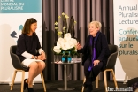 Karen Armstrong in conversation with the BBC's Chief International Correspondent Lyse Doucet, following the Annual Pluralism Lecture.