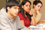 GPISH students listen during a course lecture at The Institute of Ismaili Studies.
