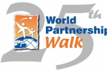 Twenty-fifth World Partnership Walk logo.