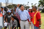 Volunteers with Congressman Ted Lieu of the 33rd Congressional District