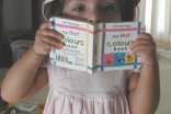Little Aanyah Abdullah discovers the magic of reading.