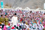 Allegiance to the Imam of the time is ultimately what makes one an Ismaili Muslim. Here Mawlana Hazar Imam walks among the Jamat at the Diamond Jubilee Darbar at Garamchashma, Lower Chitral in Pakistan