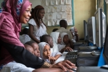 By participating in the design of an education app, volunteers have helped AKF leapfrog quality teaching and learning through technology, including in Mombasa, Kenya.