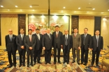 Mawlana Hazar Imam, Governor Nur Bekri, members of the government of Xinjiang and members of the AKDN delegation.