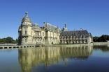 The Chateau of Chantilly.