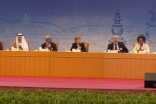 Mawlana Hazar Imam participates in a panel discussion on Culture in the Post-2015 Sustainable Development Agenda.