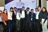 The RFS Contingent at the HUII Conference: from left to right: Arisha Chamadia, Aizaz Dosani, Ali Charaniya, Rahim Panjwani, Saif Lakhani, Yasin Lalani, Tanzim Thobani, Sahil Kadiwar, Nizar Mesani and Ashna Dawoodani