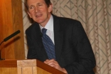 Jan Aart Scholte addresses the audience at the Ismaili Centre.