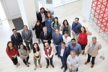 IIS staff and short course participants at the Aga Khan Centre, London.