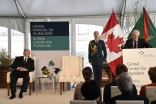 Governor General David Johnston speaking at the Inauguration of Global Centre for Pluralism in presence of Mawlana Hazar Imam