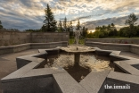 Water, an important element of traditional garden design in Islamic landscapes, is highlighted in 12 water features and fountains throughout the Aga Khan Garden in Edmonton.