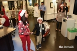 Maya and Tabish Tharoo doing their Christmas rounds at Winnie Palmer Hospital, Miami.