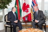 Mawlana Hazar Imam and British Columbia Premier John Horgan speak about the Ismaili community's spirit of service and pluralism.