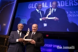 Kofi Annan, former UN Secretary-General, presents the Champion for Global Change Award to Mawlana Hazar Imam