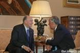 O encontro cordial entre Mawlana Hazar Imam e o presidente Marcelo Rebelo de Sousa