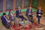 A panel discussion featured senior leaders of the Aga Khan University, including Princess Zahra, who spoke about the vital importance of the liberal arts.