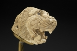 Lion's Head, Historic Syria, 9th–8th centuries BCE, Ivory, carved. With permission of the Royal Ontario Museum © ROM.