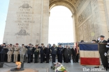 Senior French authorities, the Indian diaspora from various countries, as well as several civil society associations were present at the memorial ceremony at the Arc de Triomphe in Paris.