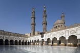 A view of the courtyard of the mosque of al-Azhar in Cairo. Bernard O'Kane