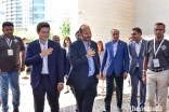 Prince Hussain and Prince Aly Muhammad joined members of the Jamat for an International Talent Showcase performance at Portugal Pavillion Canopy in Lisbon.