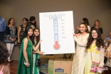 At Plano Jamatkhana, volunteers tracked the number of snack bags throughout the event to see how far they were from their donation goal of 1200 snack bags.