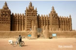 The Great Mosque of Djenne, restored by the Aga Khan Trust for Culture's Historic Cities Programme, which also restored the Great Mosque in Mopti, Mali, and later, the Djinguereber Mosque.
