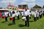The Kenyan Ismaili Youth Band rehearsing ahead of the opening of the Ismaili Games Kenya 2015. Hussein Jiva