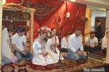 The Jamat singing traditional songs at the Roz-e-Nur event in New York.