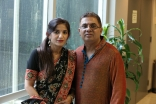 Amynah and Amir Pirani in Houston.