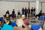 The Ismaili Community Ensemble perform during a MUSIC@ONE event held at the Ismaili Centre, London. Ismaili Council for the UK