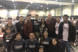I-CERV Volunteers served meals to more than 2500 volunteers alongside Virginia Governor McAuliffe.
