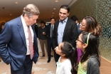 Mayor John Tory meets guests at ICT