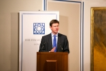 Secretary of State Greg Clark speaking at the launch of The Big Iftar 2015, which took place at the Ismaili Centre, London. Ismaili Council for the UK