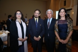 Nazneen Shafi, Dr Mohamed Keshavjee, His Excellency and Mrs Joaquim Lemos, Ambassador of Portugal to the United Arab Emirates