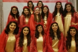 The Ismaili Dance Ensemble that performed at the Navroz celebrations in Houston, TX.
