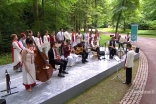 Musicians. Cannot get a higher res but need to use this Musical Ensemble at the Homage Ceremony, Aiglemont, France, July 11, 2017