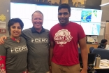 Warda Ali, Orlando Mayor Buddy Dyer, and Karim Sherali
