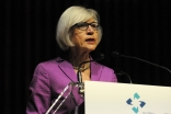 Canadian Chief Justice Beverley McLachlin delivers the fourth Annual Lecture of the Global Centre for Pluralism at the Aga Khan Museum in Toronto. GCP / T Sandler