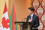 Prime Minister Trudeau acknowledges the completion of 1 million volunteer hours by the Ismaili community