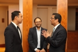 Congressman Joaquin Castro taking a tour of the Ismaili Jamatkhana and Center with Murad Ajani, President of the Aga Khan Council for the Southwestern United States.