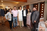 Guests posing for a photo at the annual Eid ul-Fitr Luncheon at the Ismaili Jamatkhana and Center in Sugar Land, Texas