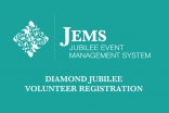 The National Council for the USA is pleased to announce that Diamond Jubilee Volunteer Registration is now open.