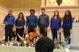 The Ismaili Youth Choir perform during the service.